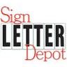 Sign Letter Depot Discounts